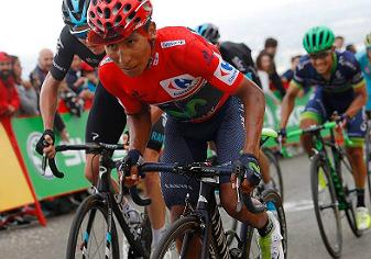 Nairo Quintana, un pedaleo digno y juicioso