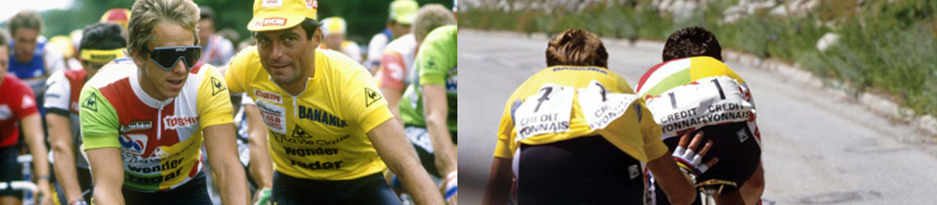 'Slaying the Badger': la lucha entre Greg LeMond y Bernard Hinault en el Tour de 1986