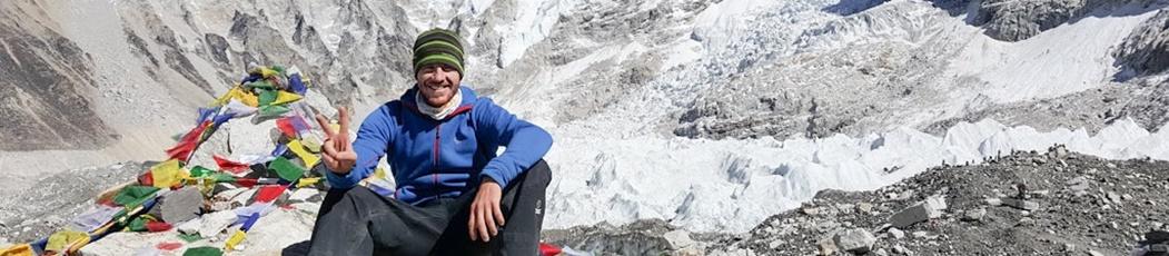 Adam Hansen y el Himalaya